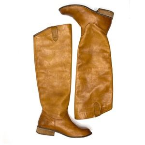 BP Leather Cognac Brown High Riding Boot Nordstrom